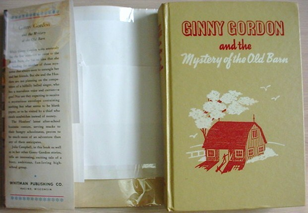 Ginny Gordon MYSTERY IN THE OLD BARN Julie Campbell HC/DJ