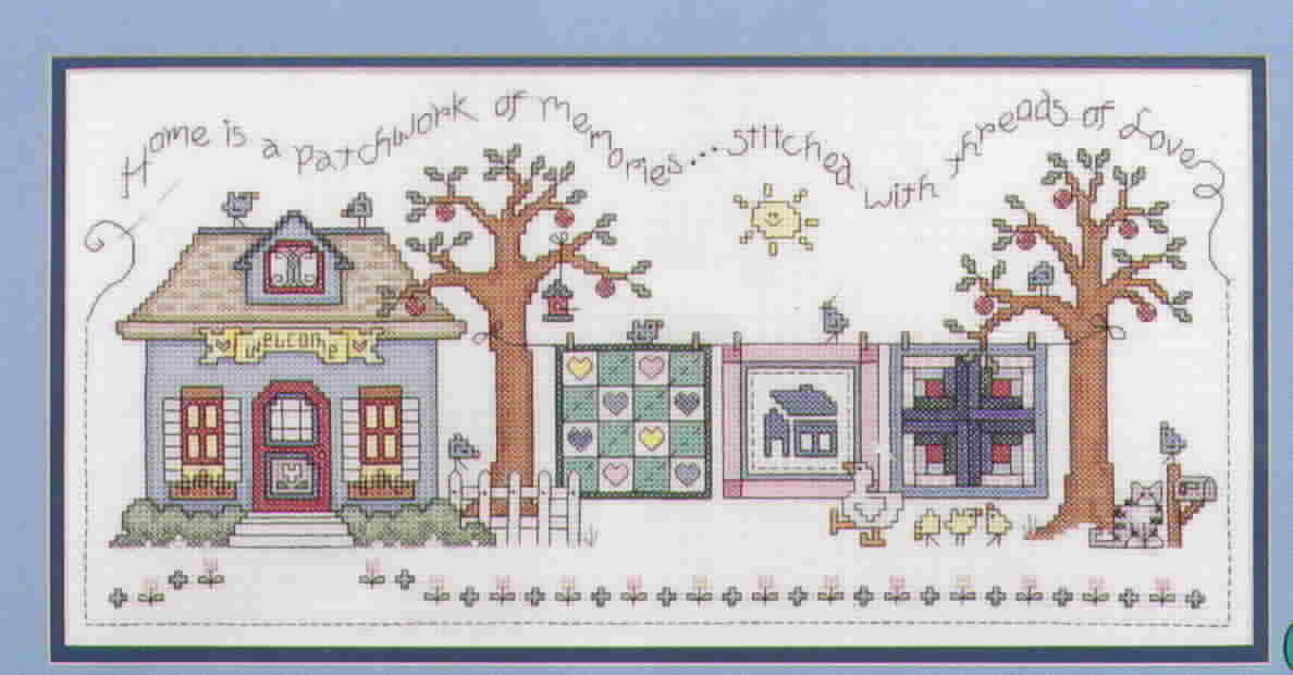 Patchwork Memories Cross Stitch by Caron Turk and Lynn Busa Graph It Arts