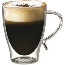 Starfrit 080056-006-FOAM 12-Ounce Double-Wall Glass Coffee - $33.47