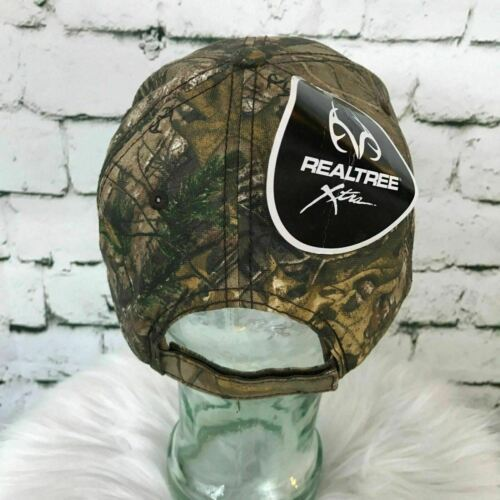 Oregon 811 Mens One Sz Hat Brown Camouflage Adjustable Realtree Ball Cap NWT