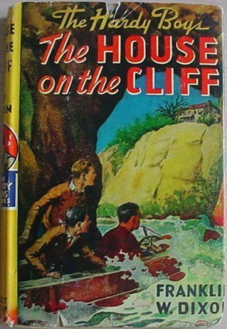 Hardy Boys HOUSE ON THE CLIFF Franklin W Dixon HC/DJ Orange Gretta eps
