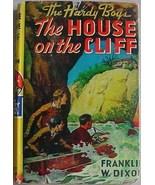Hardy Boys HOUSE ON THE CLIFF Franklin W Dixon HC/DJ Orange Gretta eps - $11.00