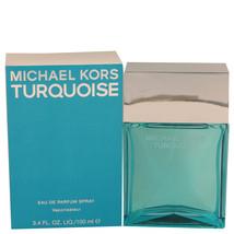 Michael Kors Turquoise 3.4 Oz Eau De Parfum Spray image 4