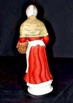 Woman Figurine AA18-1192  Vintage Tall Old image 6
