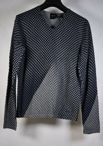 Armani Exchange AX Mens Pullover V Neck Wool Sweater XS NWT - $79.20