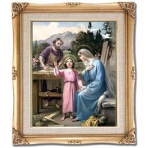 Holy Family Framed Art - $95.00
