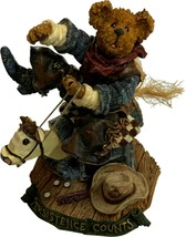 Boyds Bears, Bronson Steadfast...Hangin' Tough, 1st Edition, NIB - $19.99