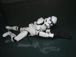 Star Wars -  Action Figure Trooper - $4.00
