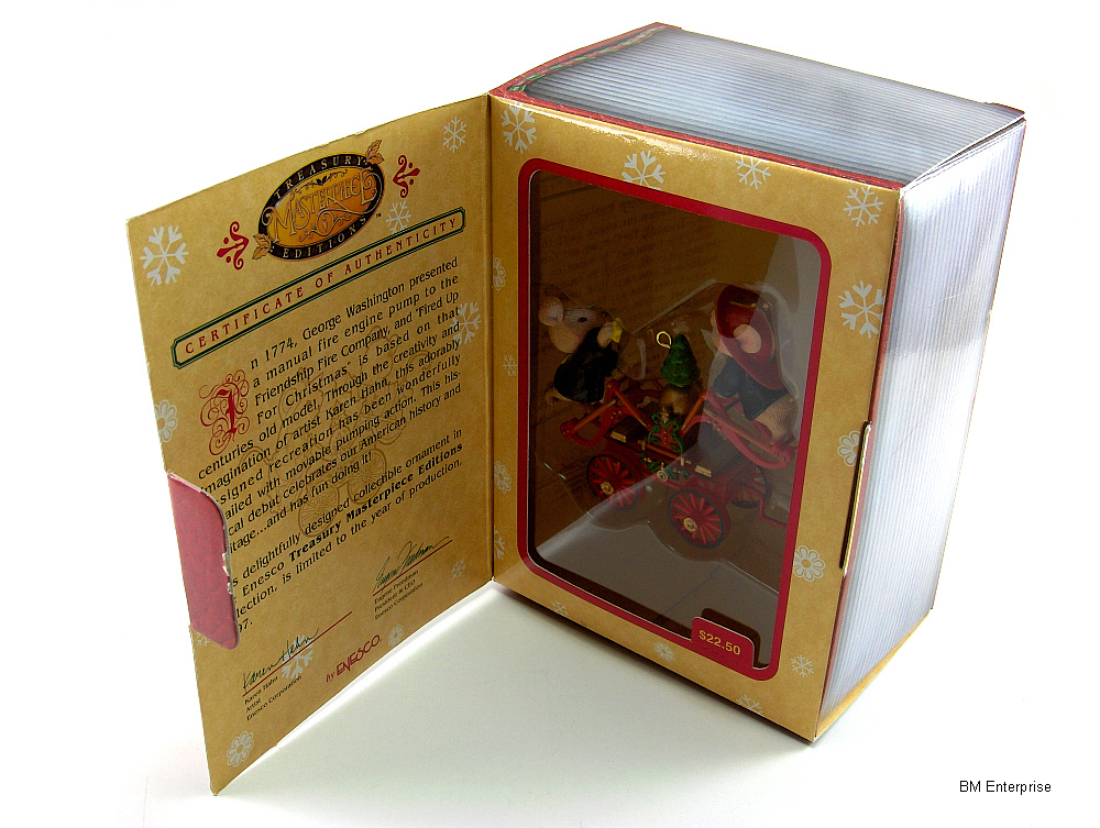 Primary image for Enesco Treasury Masterpiece Editions Fired Up For Christmas