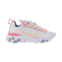 Nike React Element 55 Women's Shoes Pale Pink-Washed Coral BQ2728-601 - $100.00