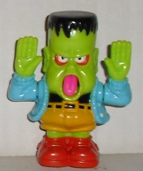 McDonald GRAVEDALE HIGH Frankentyke McD Happy Meal Toy