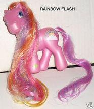 G3 Hasbro My Little Pony MLP RAINBOW FLASH w/long hair - $6.99