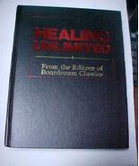 Vintage Book Healing Unlimited 1994 HCNDJ 499 page - $3.50