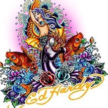 Ed Hardy Mermaid Cross Stitch Pattern***L@@K*** - $4.95