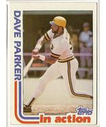 Dave Parker in Action Baseball Card #41 - $3.95