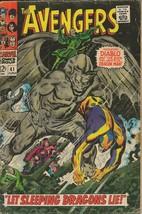 Avengers #41 ORIGINAL Vintage 1967 Marvel Comics Diablo Dragon Man - $79.19
