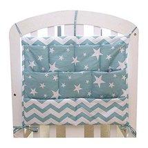 Cartoon Star Baby Bedside Diaper Bag Multilayer Pouch Storage Bag image 2