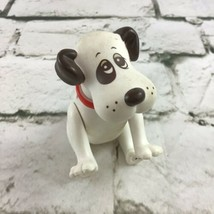 Vintage 1986 Pound Puppies Jointed PVC Figure Collectible Toy Dog By Tonka - $14.84