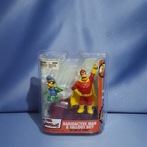 The Simpsons Radioactive Man and Fallout Boy Action Figures by McFarlane... - $60.00