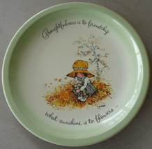 Holly Hobbie Collector's Edition Collect Plate- 1973 Plate - American Greetings - $29.69