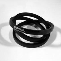 "BESTORQ B112 Rubber V-Belt, Wrapped, Black, 115"" Length x 0.66"" Width x ... - $18.54"