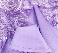Women Halter Neck SEQUIN TOPS Sleeveless Sequined Party Tops Purple Retro Style  image 4