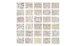 Mixed Styles 3D Nail Art Stickers Decals (10, 30 or 50 sheets)