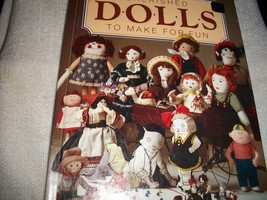 Cherished Dolls To Make For Fun Book - $10.00