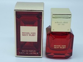 michael kors sexy ruby edp 0.24 oz / 7 ml travel size - $12.88
