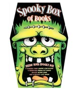 Spooky Box of Books by Parragon Joke Books Press-out Masks Board Game Tr... - $7.92