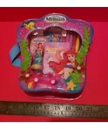 Disney Princesses Activity Set Little Mermaid Backpack Tote Book Markers... - $18.99