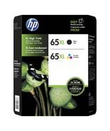 HP 65XL High-Yield Black; Tri-Color Original Ink Cartridge, 2/Pk T0A37BN - $72.99