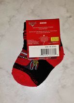 Disney Pixar Cars Lightening McQueen Black Red White Boy's 4-5.5 Ankle Socks image 3