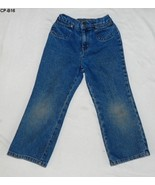 Cherokee Size 5T Girls Blue Denim Jeans - $5.99