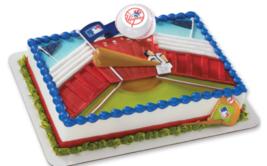 New York Baseball Cake Topper Decoration Supplies Sports Cupcake Yankees - $11.84