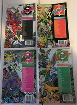 Who's Who #8 9 10 11 DC Comic Book Lot Of 4 1986-87 LOT /  Run VF+/NM Co... - $4.54