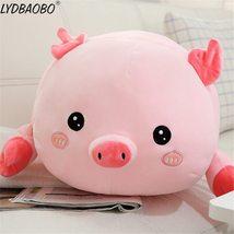 90cm Giant Cute Panda&Pig Animal Plush Baby Soft Stuffed Sofa Pillow Hand Warm D image 5