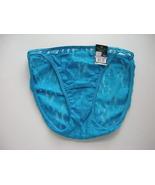 Vanity Fair Lace Illumination String Bikini Aqua Sizes  6,,8 - $6.99