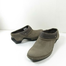 Merrell J56086 Drizzle Luxe Womens Sz 9.5 Wrap Comfort Gray Slip On Clog... - $39.59