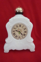 Avon Bottle -- Clock -- empty, no box - $8.99