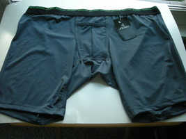 Jockey Big Men's H-Front Boxer Brief Size 2XL Dark Gray - $7.99