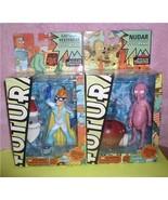 Futurama Fry Capt Yesterday and Nudar buid a Sata build a Robot 2 action... - $60.00