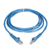 NEW Tripp Lite N201-010-BL 10ft 3m CAT6 CAT-6 Blue Gigabit Snagless Patch Cable - $2.95