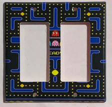 Pac-Man Pacman Games Light Switch Duplex Outlet wall Cover Plate Home Decor image 5