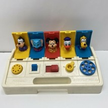Playskool Disney Poppin' Pals Pop Up Toy VINTAGE 1980 5 Characters Mickey Dumbo - $21.99