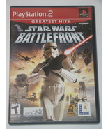 Playstation 2 - STAR WARS BATTLEFRONT (Complete with Manual) - $18.00