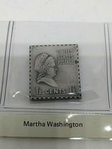 sterling silver Martha Washington presidential stamp ingot  - $23.20