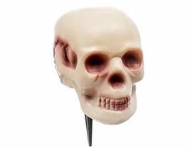 Plastic Skull Head Halloween Yard Decoration - $9.19