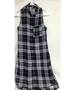 Love By Design Womens Medium M Shear Tank  Dress Overwear P - $12.38