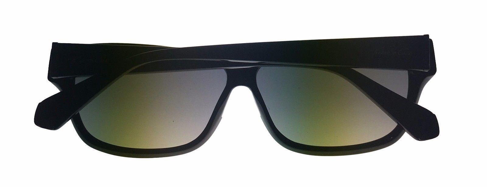 Kenneth Cole New York Mens Sunglass Soft Square Black, Smoke Lens KC7034 1B image 4